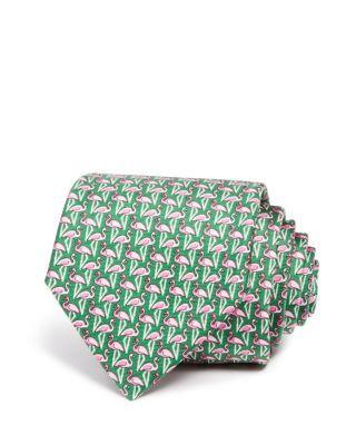 The Men's Store at Bloomingdale's Flamingos Classic Tie | Bloomingdale's  Flamingo Fun.