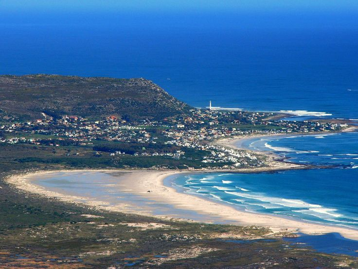 Seven Mile Beach in Noordhoek, Cape Peninsula, Western Cape, South Africa