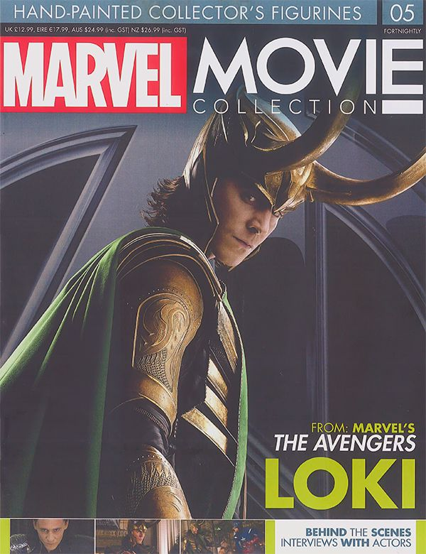Marvel Movie Collection 5: Loki. Scans magazine (UHQ): http://imgbox.com/g/UmSp2jM3bA