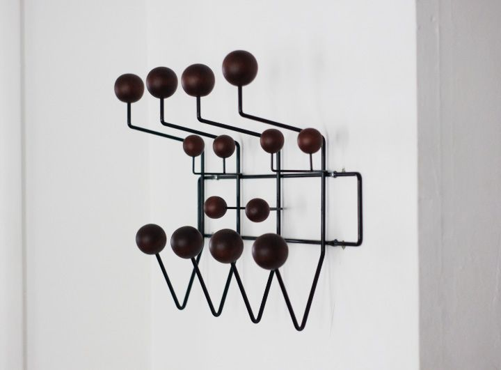 black walnut version of the eames hang it all available at. Black Bedroom Furniture Sets. Home Design Ideas
