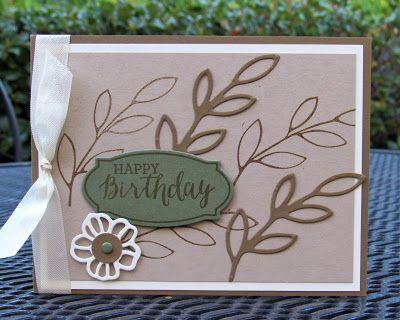 Krystal's Cards: Stampin' Up! Rose Wonder Birthday #stampinup #krystals_cards #rosewonder