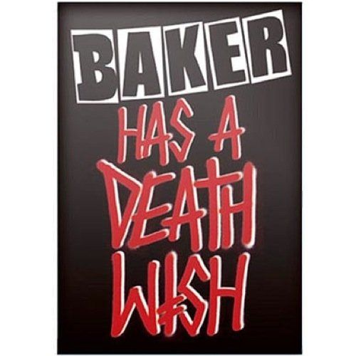 Baker Has A Deathwish DVD (NEW)