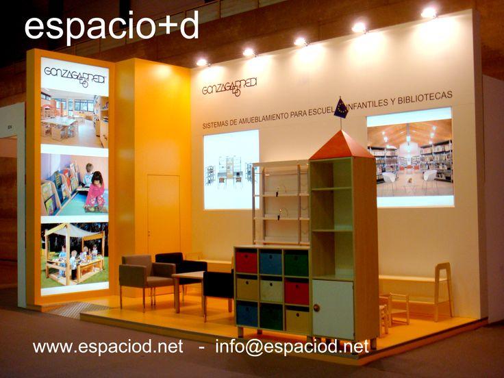 Diseño y  construcción de stand para Gonzagarredi – Ofitec – Ifema - Madrid www.espaciod.net