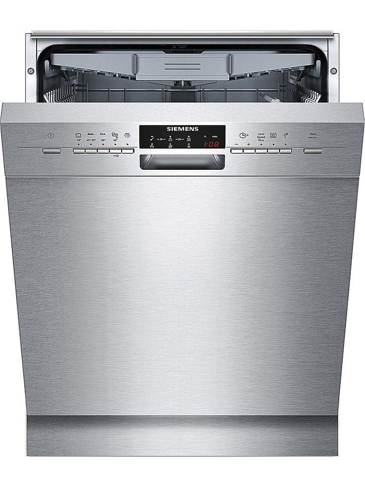 Siemens SN45M580SK diskmaskin. Maskinen har 4 temperaturer och Zeolith torkning. AquaStop ser till att risken för vattenskador i köket minimeras. Det självrengörande filtersystemet kommer i 3-steg med vågformat microfilter.