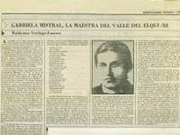 Gabriela Mistral and TEACHERS OF MEXICO AND MISTRAL .: GABRIELA MASTERS OF MEXICO.