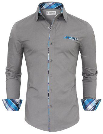 13 best polkadots by glimling images on pinterest for Tom s ware mens premium casual inner contrast dress shirt
