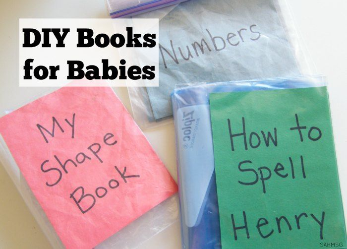 Creating DIY books for babies is a simple way to encourage a love for books and reading. You can personalize these DIY books for babies in a number of ways.