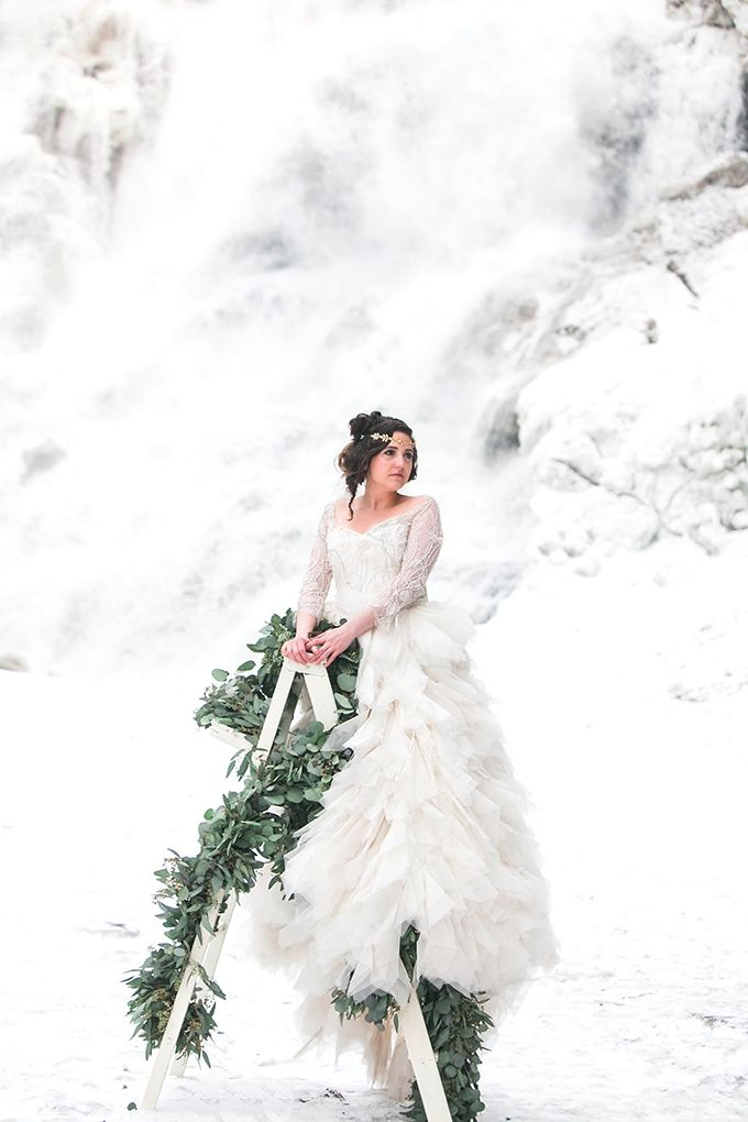 winter wonderland wedding south africa%0A Romantic French Winter Wedding Inspiration