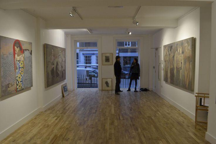 Darren Baker Gallery Solo Show Tarik Berber LONDON 2015 #London #Art #Artshow #painting #exhibition #LondonArt
