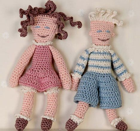 Dukke Peter & dukke Pernille