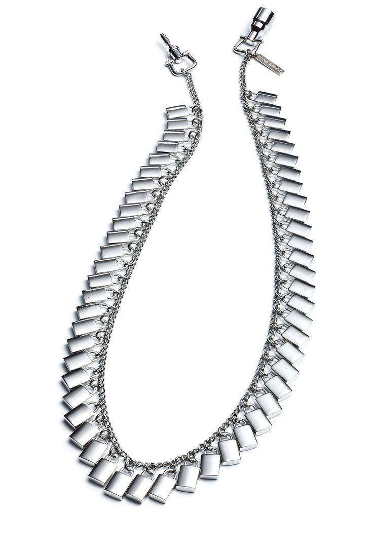 Padlock Necklace by Eddie Borgo for $50 | Rent The Runway