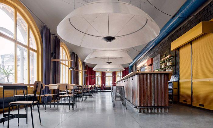 Mjölk navrhli interiér pro liberecký Chicago Bar