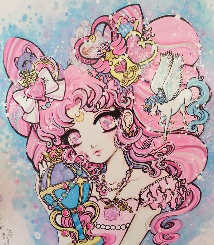Pink Sugar Dreams. Chibimoon, Small Lady by Miss Kika