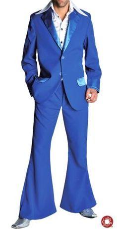 Vestito blu uomo scarpe 1950
