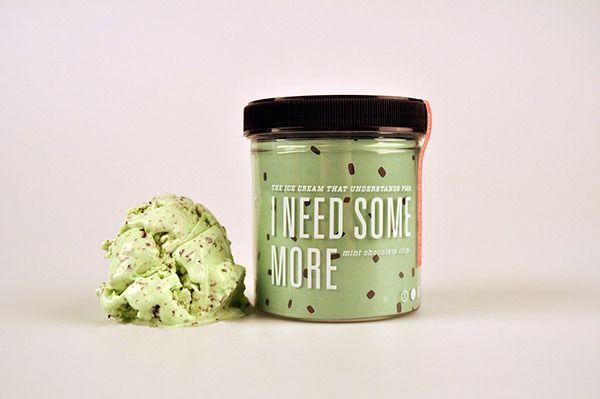 La diseñadora, Parker Jones, creó una gama de helado que ayudarán a cualquier mujer durante ese difícil momento del mes...