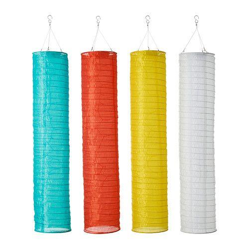 SOLVINDEN Solarhängeleuchte IKEA Keine Stromkosten; die Solarzelle wandelt Sonnenlicht und das Windrad Wind in Energie um.