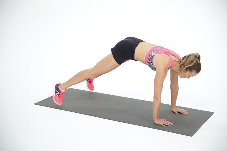 This Bodyweight Move Is the Perfect Combo of Cardio and Core Work
