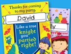 Mike the Knight Thank You Cards