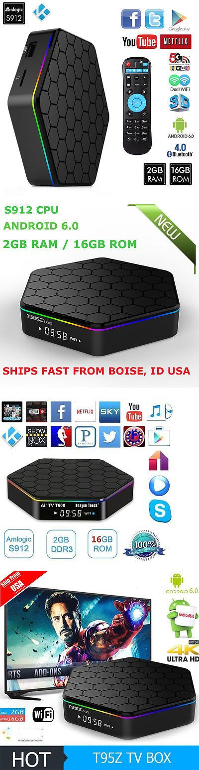 Cable TV Boxes: T95z Plus 16Gb Octa Core 16.1 4K Bluetooth Wifi Streaming Tv Box Fully Loaded Sw -> BUY IT NOW ONLY: $59.85 on eBay!