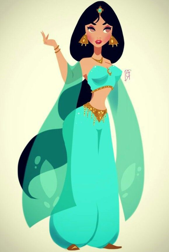 Princess Jasmine Artwork