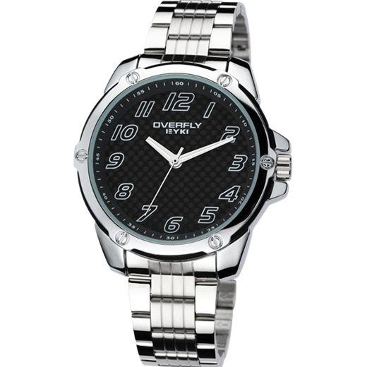 Armbandsur Eyki - Overfly Carbon (svart) #eyki #kimio #sportklocka #sportklockor #armbandsur #klocka #klockor #herrklocka #herrklockor #runns #watch #watches #nato #natoband #overfly