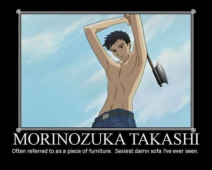 Takashi Morinozuka (Mori) - Ouran High School Host Club - I love Mori! He is so underappreciated.