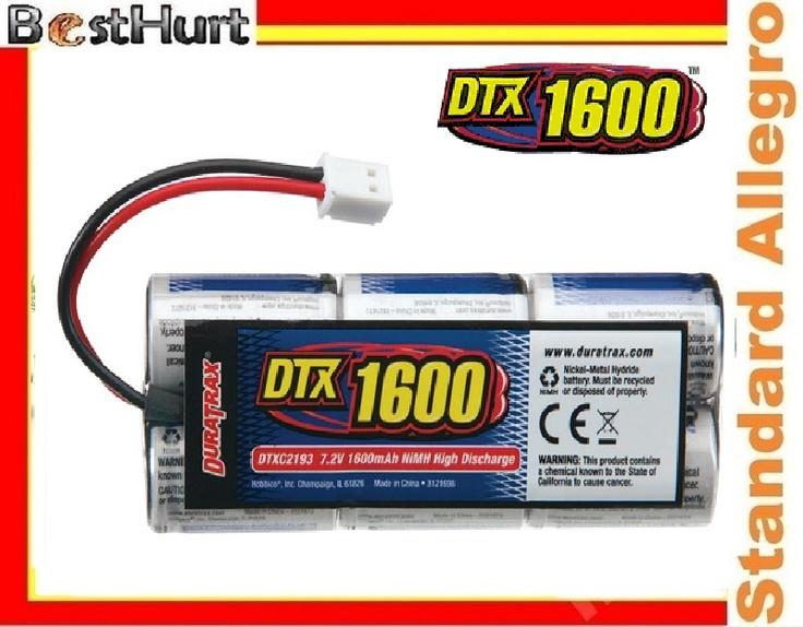 Akumulator 7.2V 1600 mAh DTX do Samochodów HSP HPI