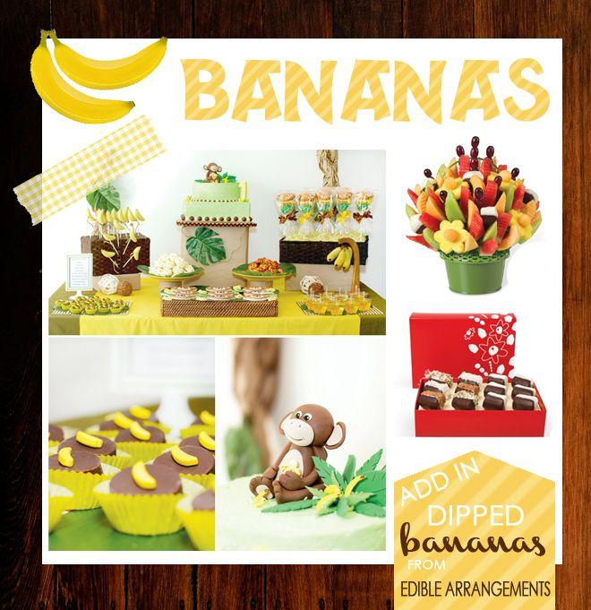 Adorable Banana themed party ideas!