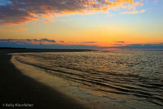 Sandy Beaches // Bald Head Island NC by KleinfelterDesigns on Etsy