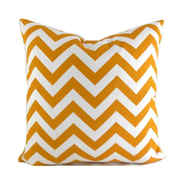 Outdoor Pillows Outdoor Pillow Covers Decorative Pillows ANY SIZE Pillow Cover Yellow Chevron Pillow Premier Prints Outdoor Zigzag Citrus
