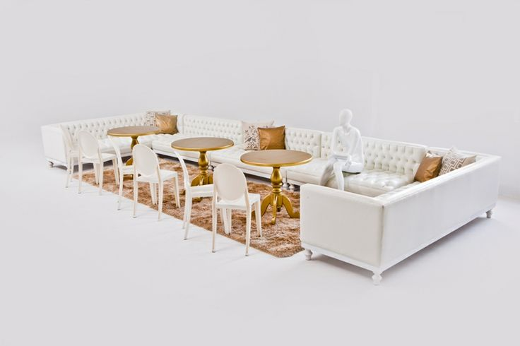 Gold and White Lounge Pod Classic!!