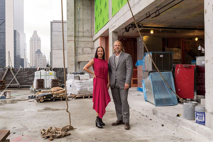 MARRIED TO THE JOB  For Stephen Alesch and Robin Standefer, the husband-and-wife team behind the architecture and design firm Roman and Williams—New York's ultra-stylish Ace and Standard hotels among their many credits—working together is as easy as finishing each other's sentences.