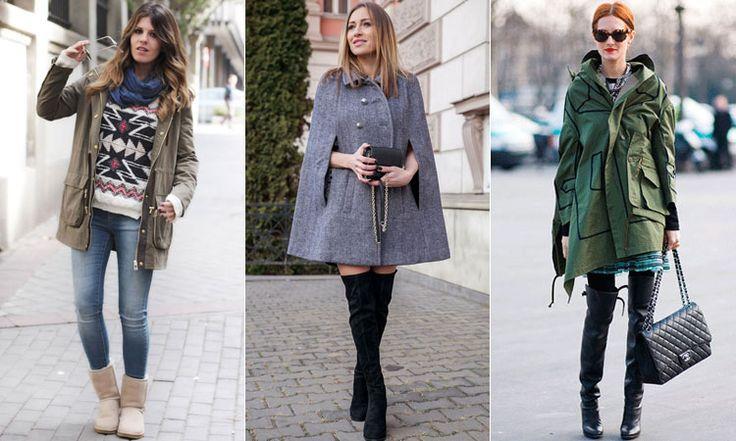 Женские осенние куртки средней длины