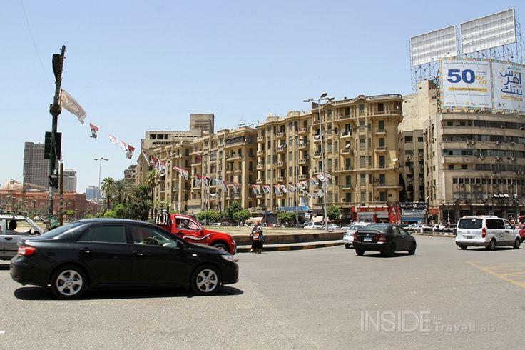 Tahrir Square Last Month, Egypt