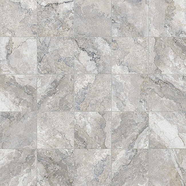 Anatolia montecelio argento hd porcelain tile marble for Best material for carpet