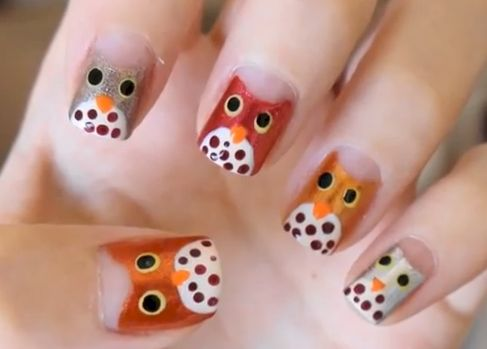 12 Autumn Nail Designs That Will Have You Falling This Fall