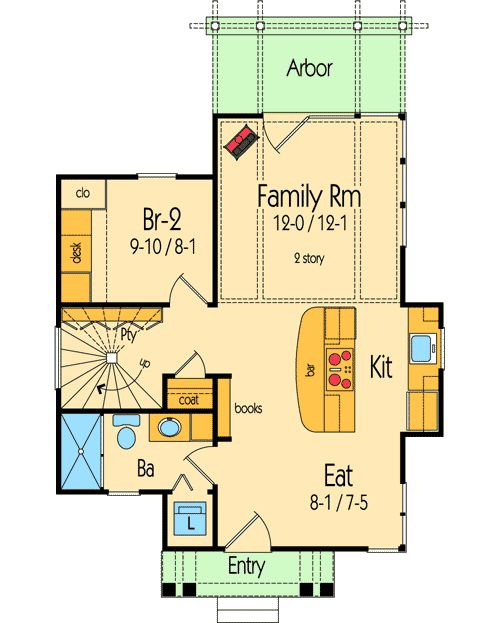 127 Best House Plans Images On Pinterest Small Home