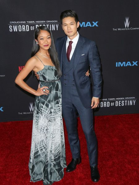 Harry Shum Jr. Photos: Celebrities Attend the Premiere of Netflix's 'Crouching Tiger, Hidden Dragon: Sword Of Destiny'