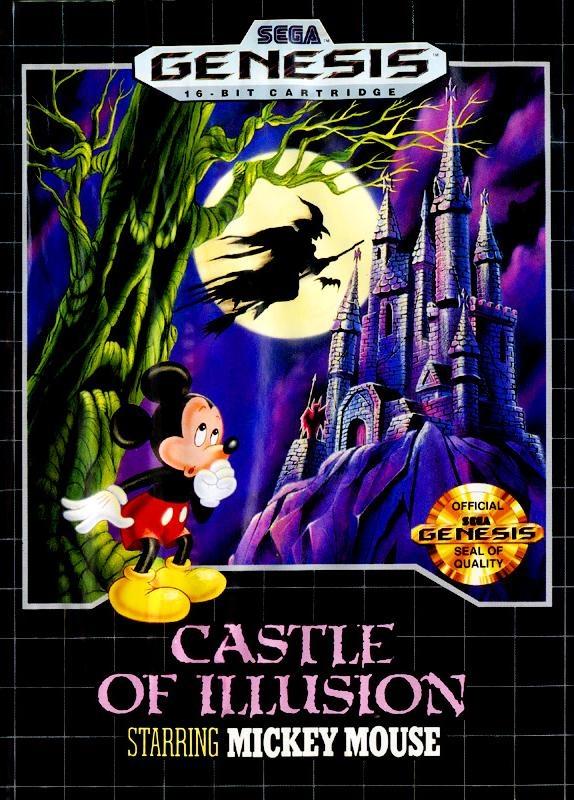 Sega Genesis - Castle of Illusion Starring Mickey Mouse