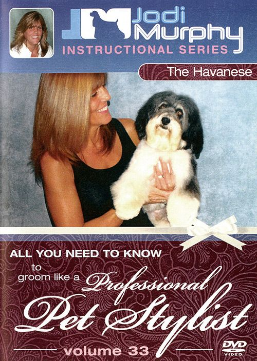 Review of Jodi Murphy Havanese Grooming instructional DVD.