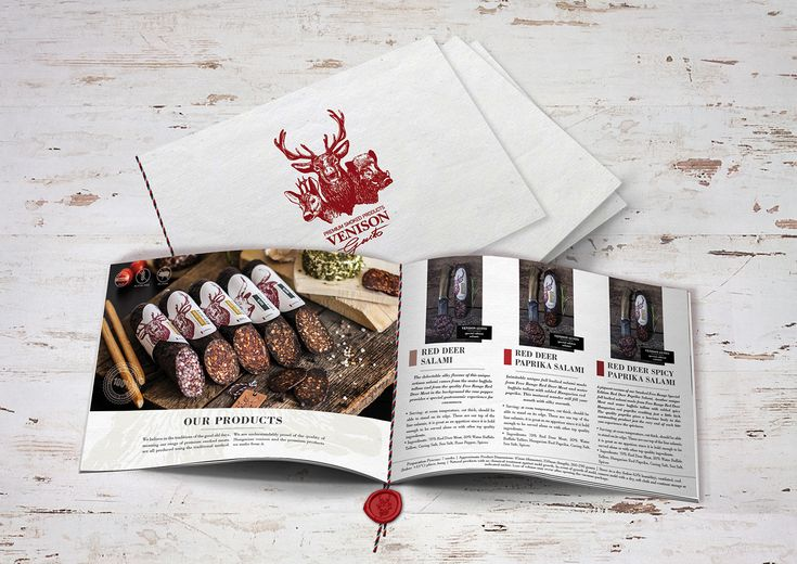 Venison Gusto Product Design on Behance