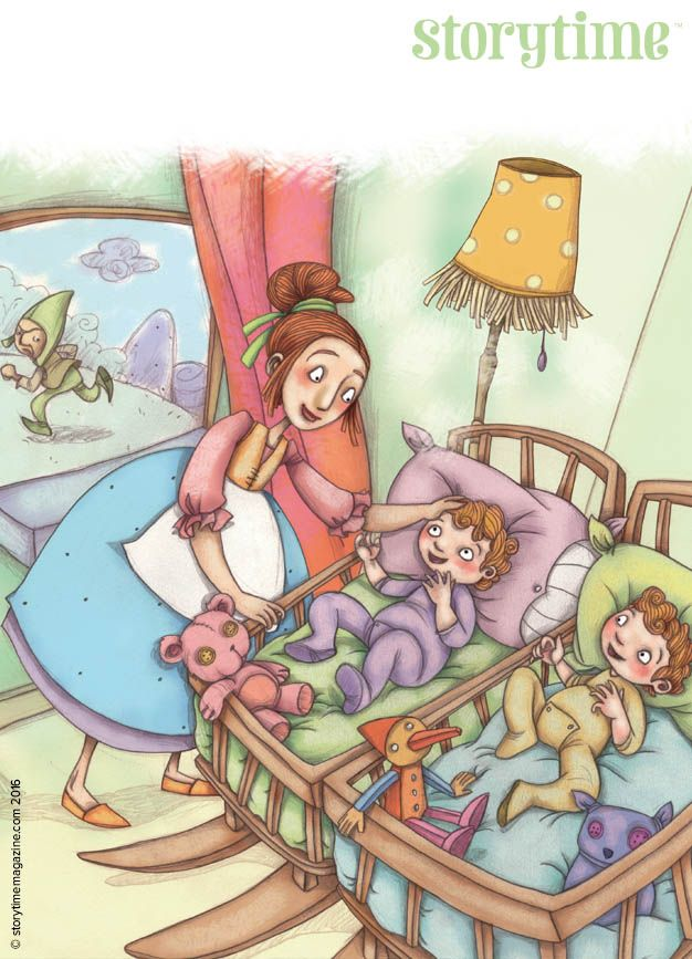 A folk tale told in many cultures of naughty pixies taking away cute babies and leaving changelings in their place. Art by Laura Sua (http://www.advocate-art.com/artist.laura-sua) ~ STORYTIMEMAGAZINE.COM