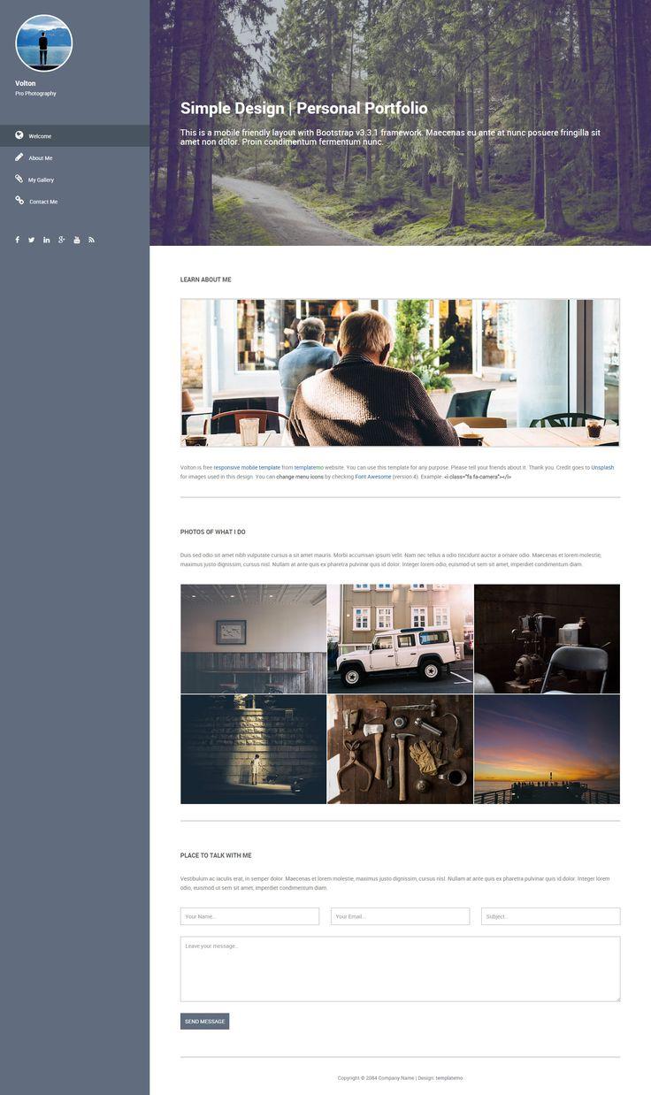 Die besten 25+ Mobile website template Ideen auf Pinterest ...
