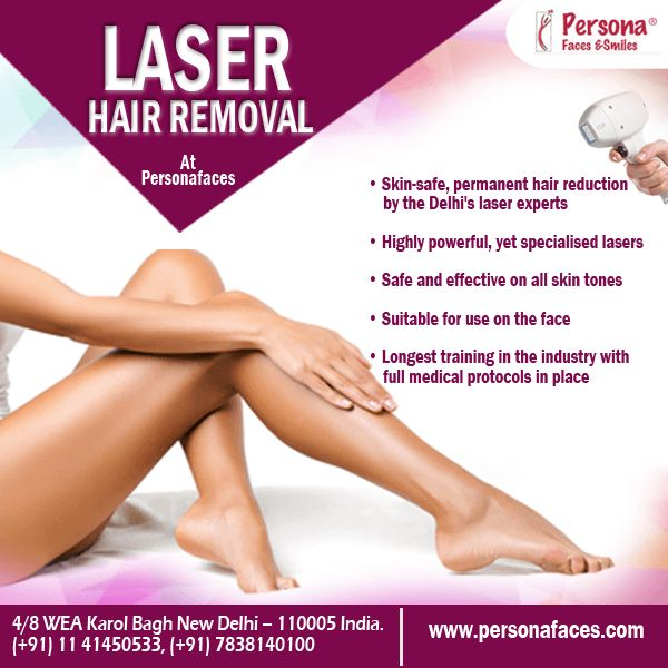 Get today perfect Skin-safe & #permanenthairreduction by the Delhi's laser experts. Visit our website to book  laser hair removal appointment