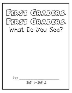 F is for First Grade: Beginning of the Year Class Book Idea