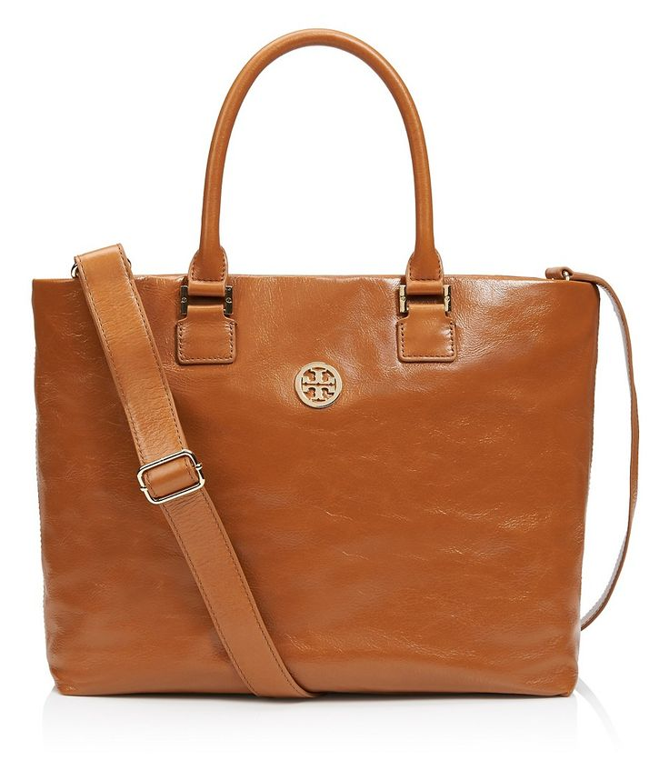 I would use this @torybuch bag daily! love it!  #brown #leather #toryburch #preppy #tote #school #backtoschool http://midwest-prep.com/ff-tory-burch-private-sale/