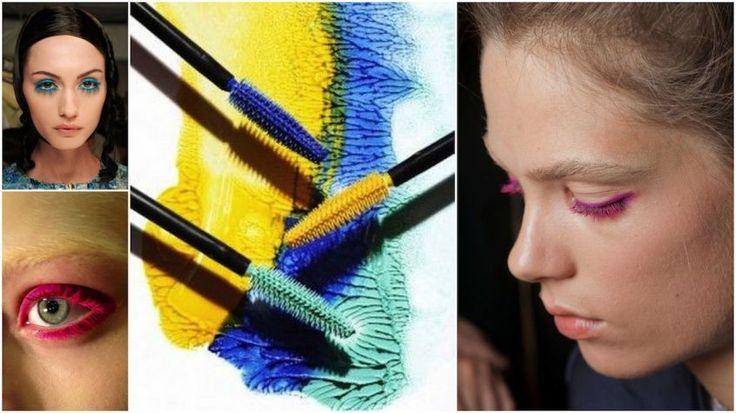 come portare il mascara colorato