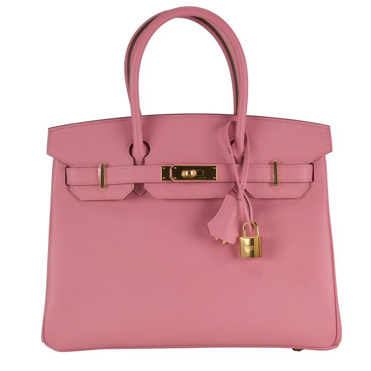 Hermes Handbag Birkin 30 Epsom Pink Confetti Gold Hardware 2015. - Hermes Handbag Birkin 30 Epsom Pink Confetti Gold Hardware 2015.  Pristine condition.  Model: BIRKIN  Dimension: 30cm width x 22cm height x 16cm length.  Color: Rose confetti.  Hardware: Gold.