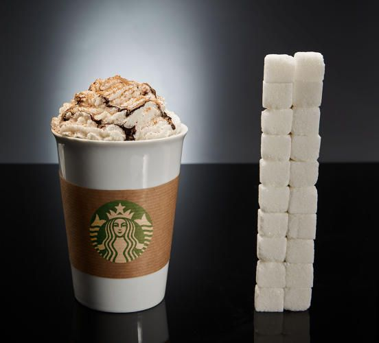 <p>The amount of sugar in your food is remarkable when you see it all in one place.</p>