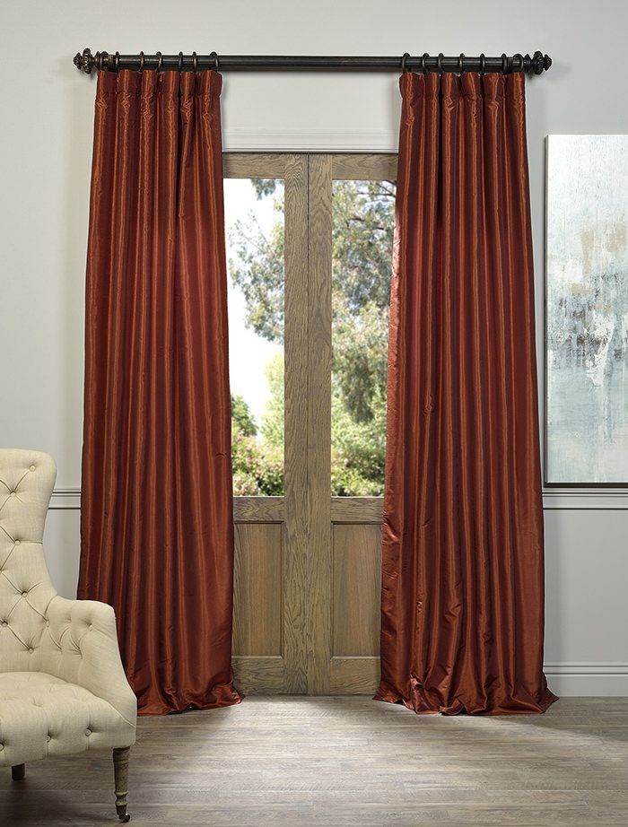 best 25 burnt orange curtains ideas on pinterest blue and orange living room living room. Black Bedroom Furniture Sets. Home Design Ideas
